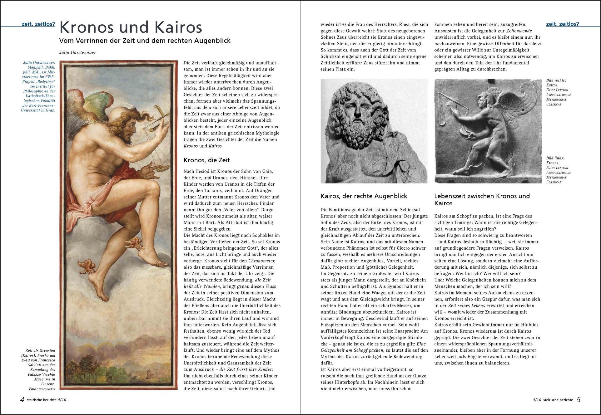 Kronos und Kairos